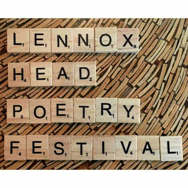 Lennox Head Poetry Festival is in the town over the next few days.