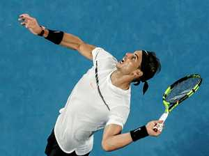 Nadal sets up clash with top teen