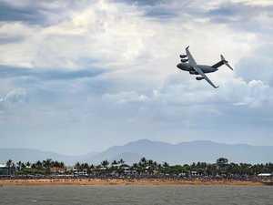 Coast skies to light up with RAAF mega-plane