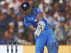 Dhoni cracks ton - and spidercam - in England defeat
