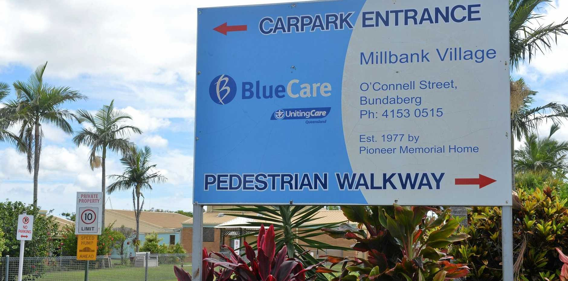 NOT HAPPENING: Blue Care has rejected claims staff will be given redundancies at Millbank Village.