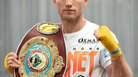 Australian welterweight boxer Jeff Horn.