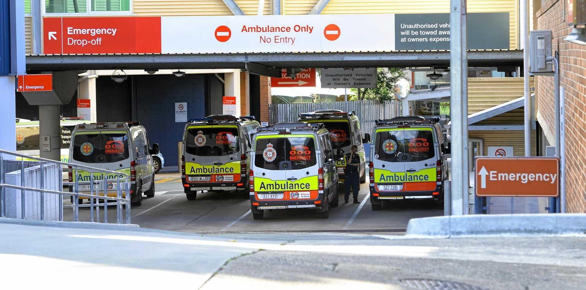Ramping at the Ipswich Hospital