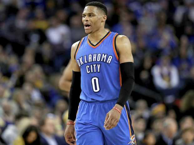 Oklahoma City Thunder guard Russell Westbrook.