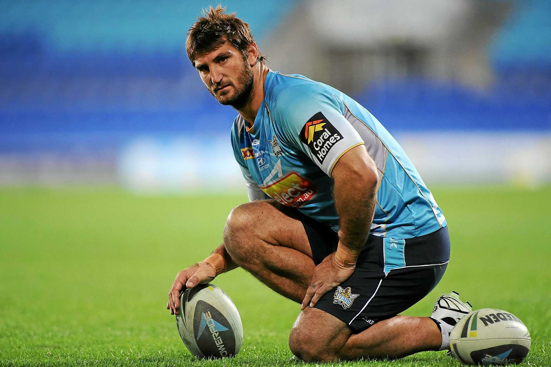 Dave Taylor during his days as a Gold Coast Titan.