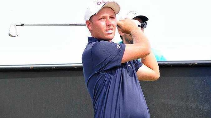 IN ACTION: Shae Wools-Cobb at the Australian Master of the Amateurs at Royal Melbourne