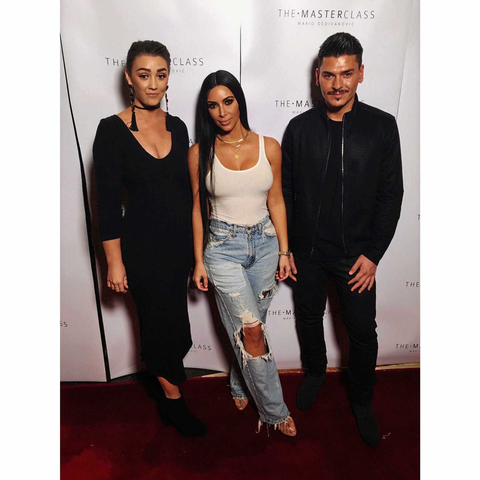 Make-up master class in Dubai with Lorelli Macaulay, Kim Kardashian and Mario Dedivanovic