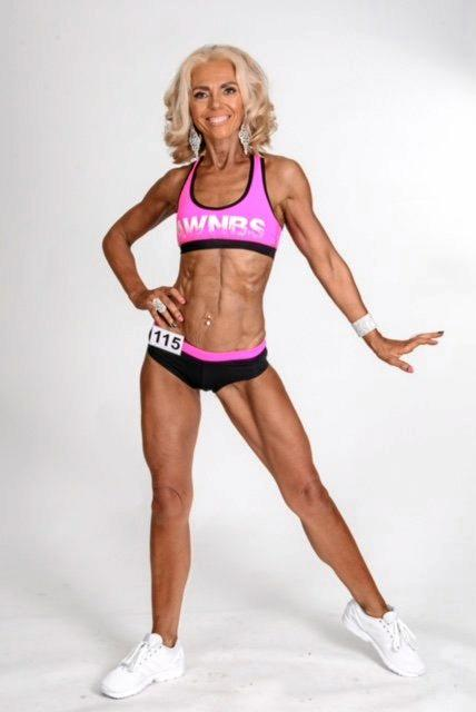 TRANSFORMATION: Maxine Dilkes is a mum-turned business woman and female body builder.