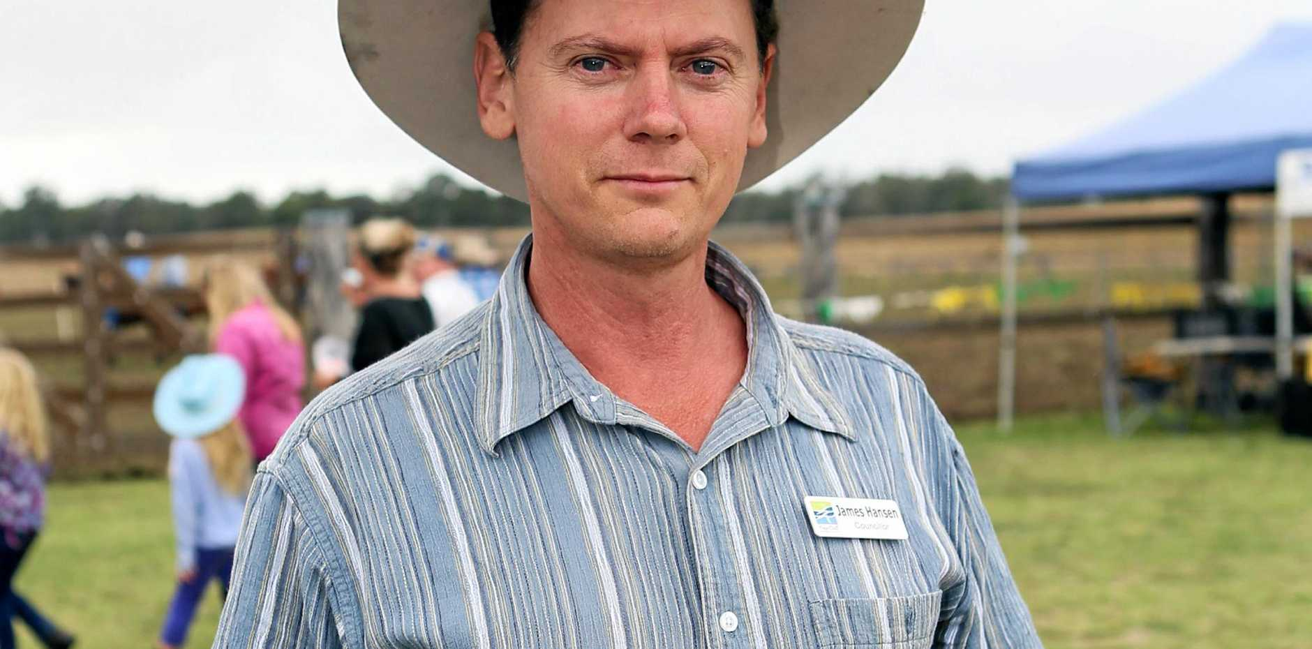 Maryborough candidate for One Nation James Hansen said a discussion on banning the burqa