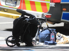 A child was reportedly thrown out of the pram. Picture: Alex CoppelSource:News Corp Australia