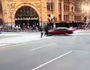 Video shows moments before man plowed into pedestrians