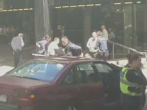 Pedestrians run down in Melbourne CBD
