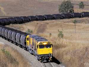 Car versus train at South Trees