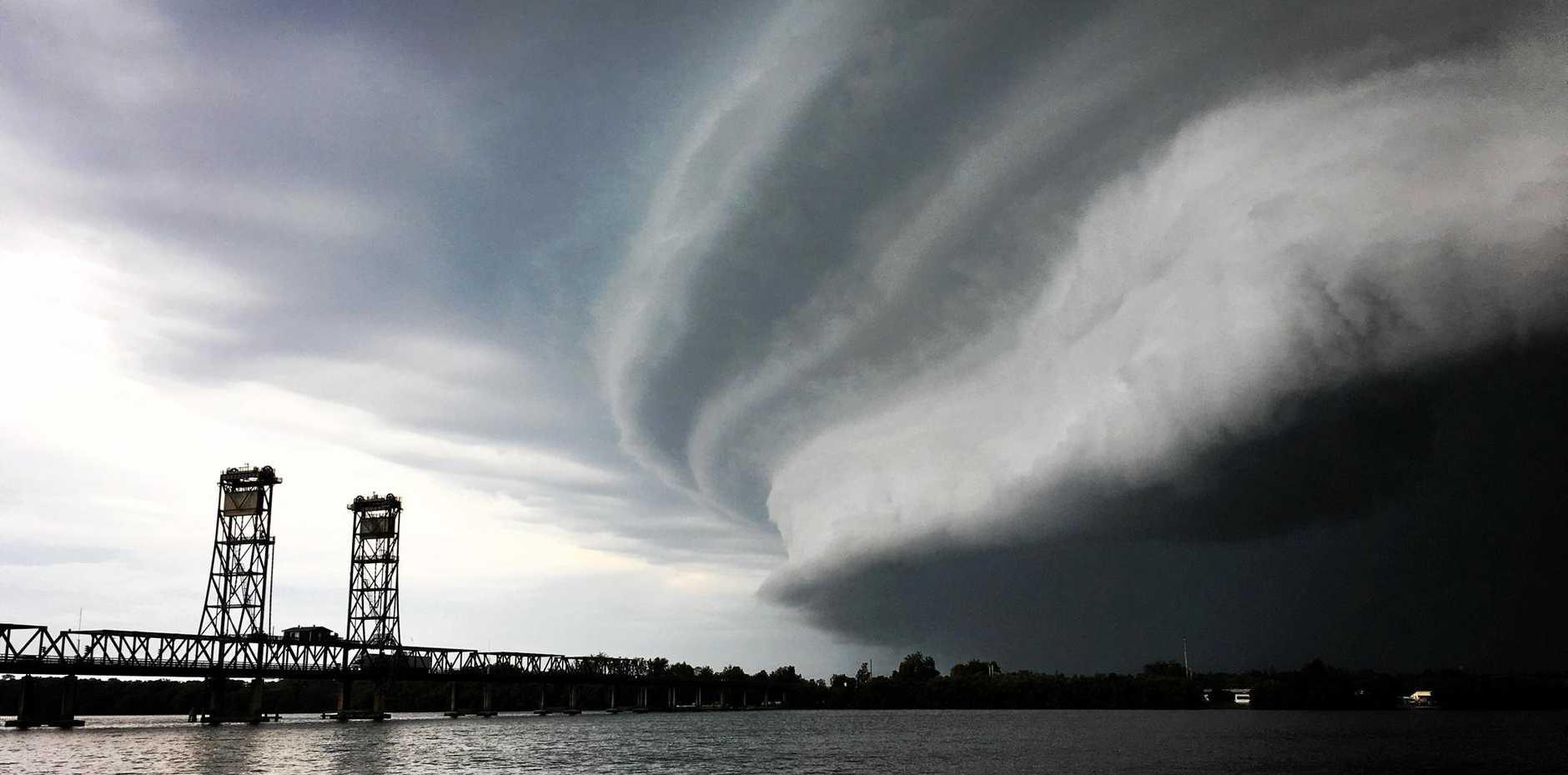 Storm at Harwood Bridge.