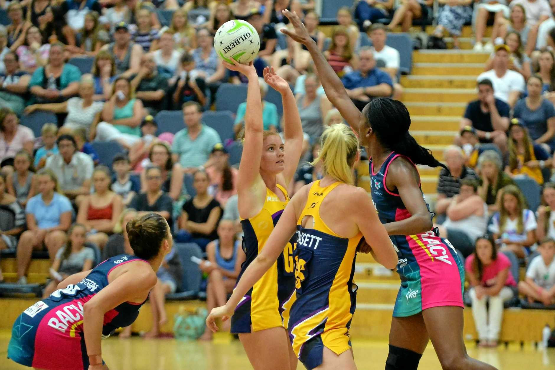 FULL GAME: Steph Wood played the whole 60 minutes at Caloundra.