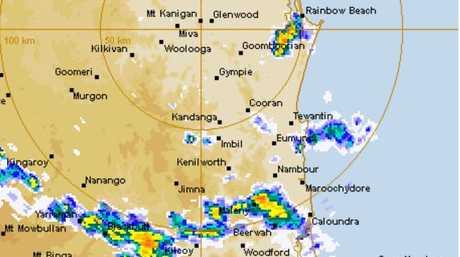 The radar at 3pm.