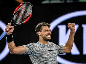 Dimitrov claims third-round win at 2am