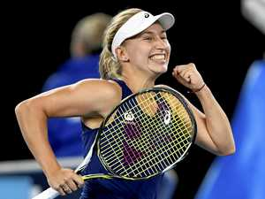 Focussed Gavrilova fights back to advance at Open