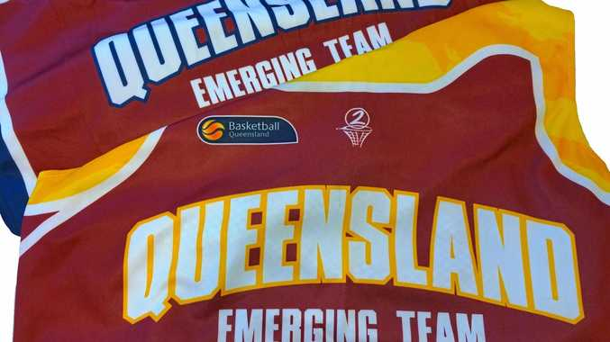 QUEENSLANDER: Basketball Queensland jerseys.