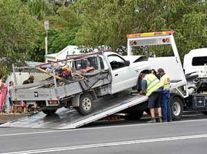 Emergency services urge caution after weekend crashes