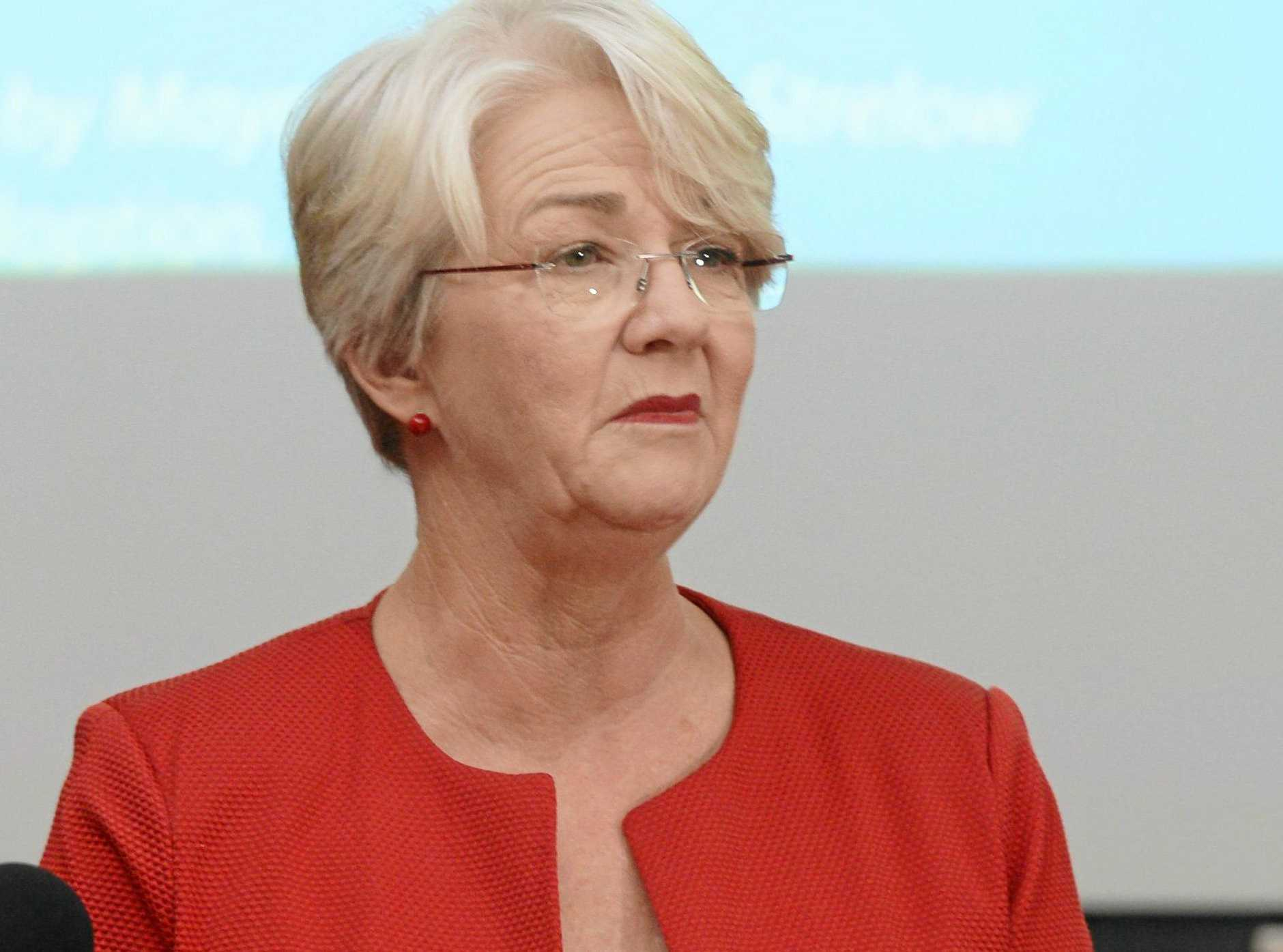 Rockhampton Regional Council Mayor Margaret Strelow has issued a warning to protesters from Mackay planning to attend the Adani Roadshow.