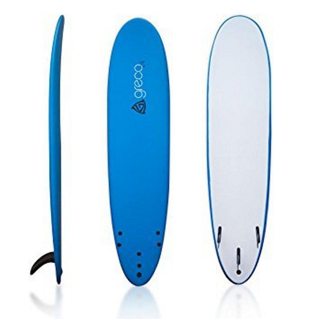 An example of a foamy surfboard.