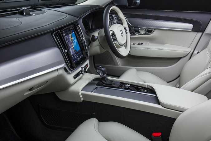 2016 Volvo S90 sedan.