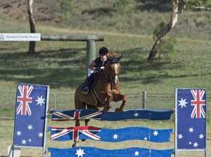 Australia Day showjumping