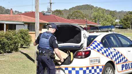 A crime scene has been declared at Rudd St, Drayton after shots were fired this morning.