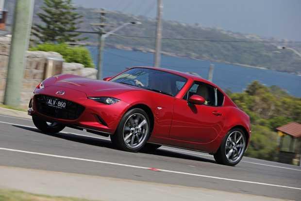 2017 Mazda MX-5 RF GT in Soul Red