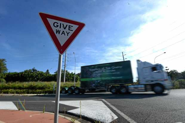 BLACK SPOT: The Alstonville bypass intersection, where the Bruxner Hwy meets Ballina Rd at Alstonville has been the scene of numerous traffic incidents.