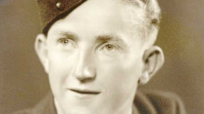 AIR MAN: Warrant Officer Harold Arthur Miller served with the RAAF during the second World War.