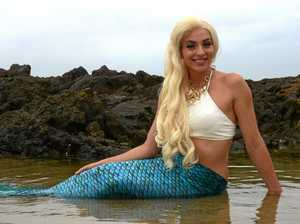Mermaids arrive for the Sand Safari Arts Festival