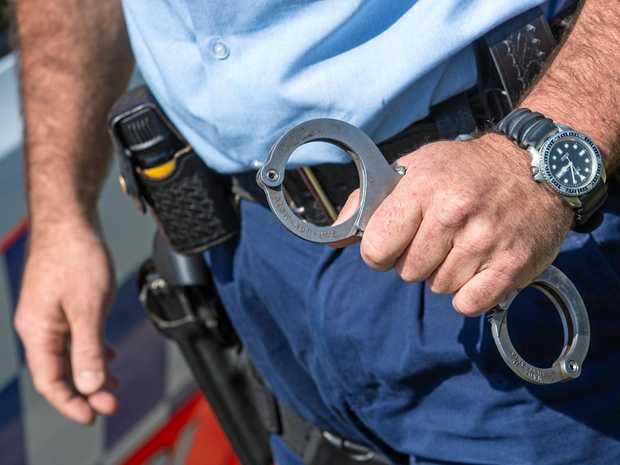 police generic Handcuffs arrest. 07 October 2016