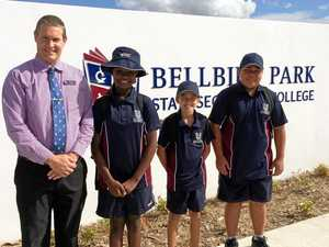 Bell rings for the first time at Ipswich's newest school