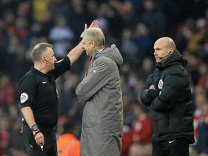 Wenger's clash with official could prove costly