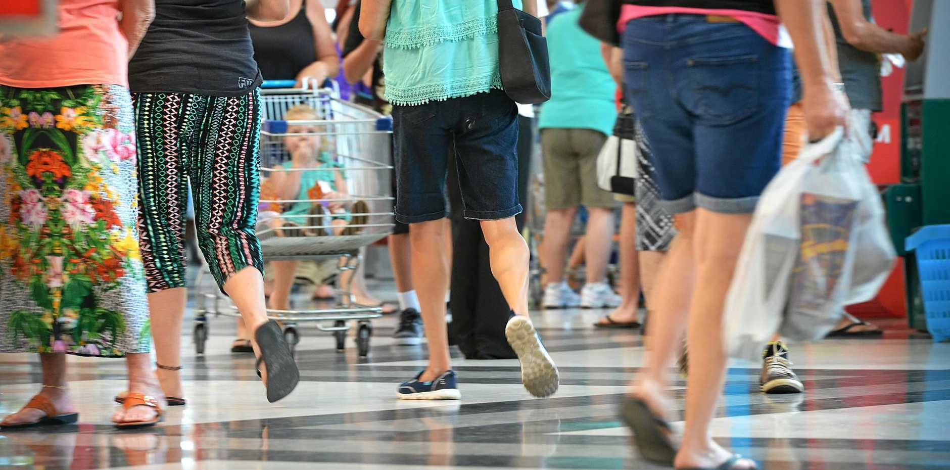 Mackay police Senior Constable Steve Smith says there's been a spate of thefts at Mackay shopping centres.