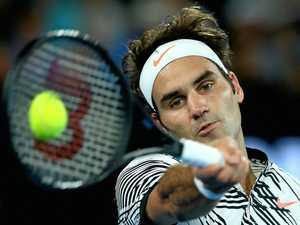 Stars align for Federer