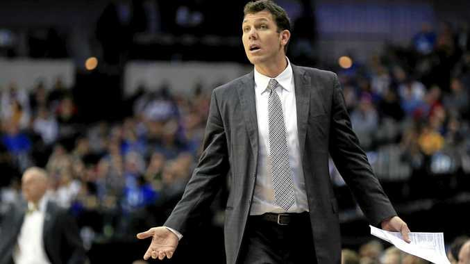 LOST FOR ANSWERS: Los Angeles Lakers coach Luke Walton.