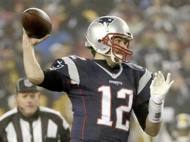 ANOTHER SUPER BOWL TRIP: New England Patriots quarterback Tom Brady.