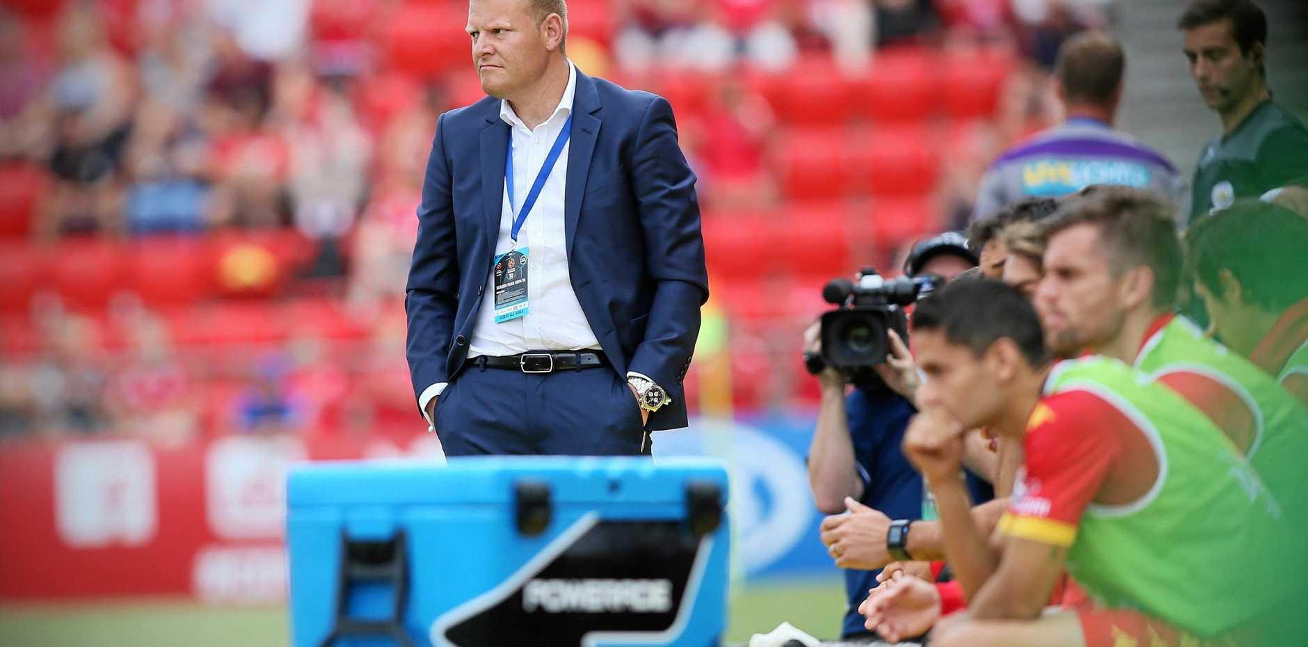NEW SQUAD: Australian under-23 coach Josep Gombau.