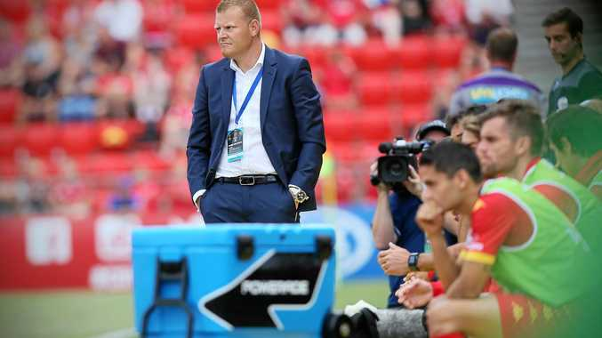 NEW SQUAD: Australian under-23 coach Josep Gombau.