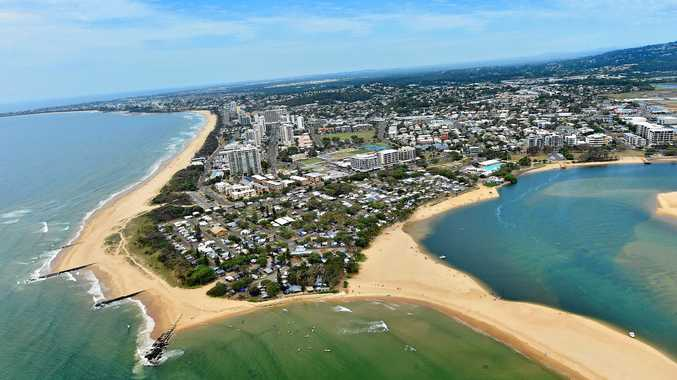 The Sunshine Coast Council will consider building a rock wall at the Maroochy River mouth.