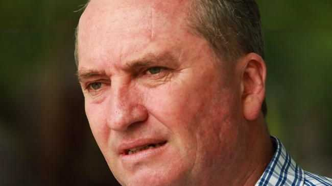 Barnaby Joyce says Australia won't be following Donald Trump's lead on climate change policies.