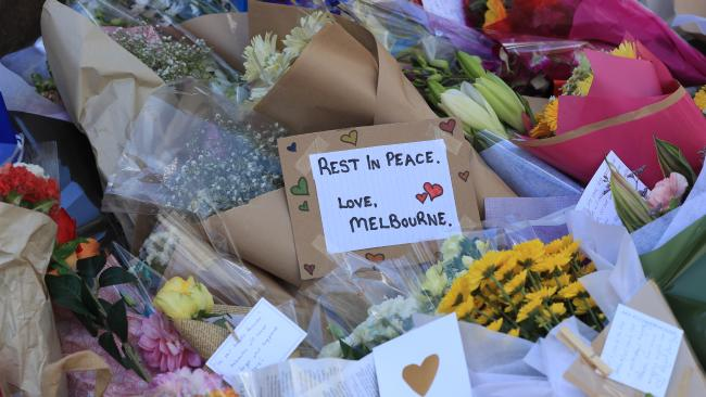A note left at the scene of Melbourne's city rampage.