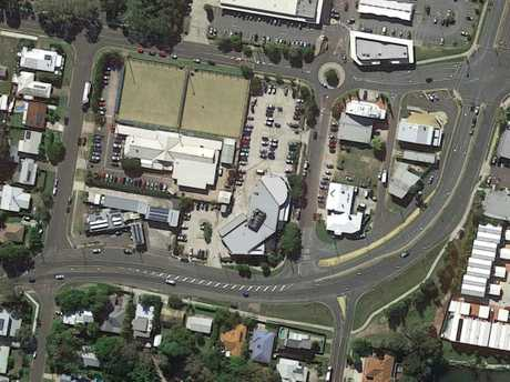 The Pacific Paradise Bowls Club site.