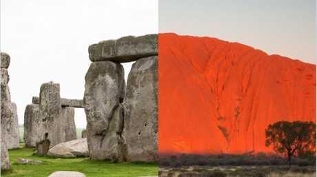 Stonehedge v Uluru: What would be your pick?