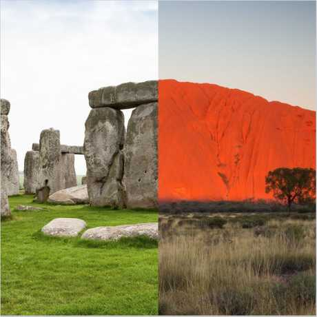 Stonehedge v Uluru: What would be your pick?