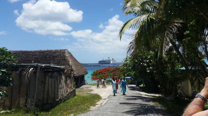 A stop to stretch the legs at Lifou.
