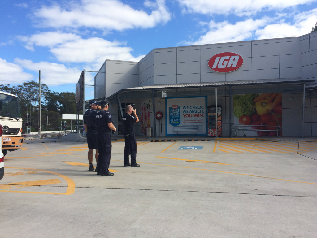 Police are at the scene of a stabbing that happened overnight at North Buderim IGA.